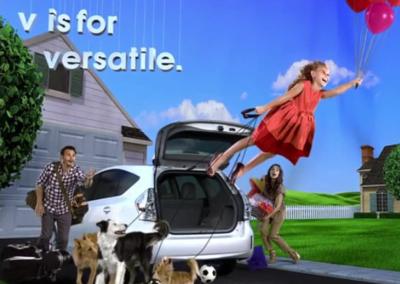 Toyota Prius Living Ad